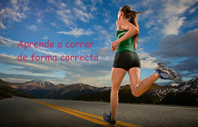 ¿Cuál es la postura correcta al correr?