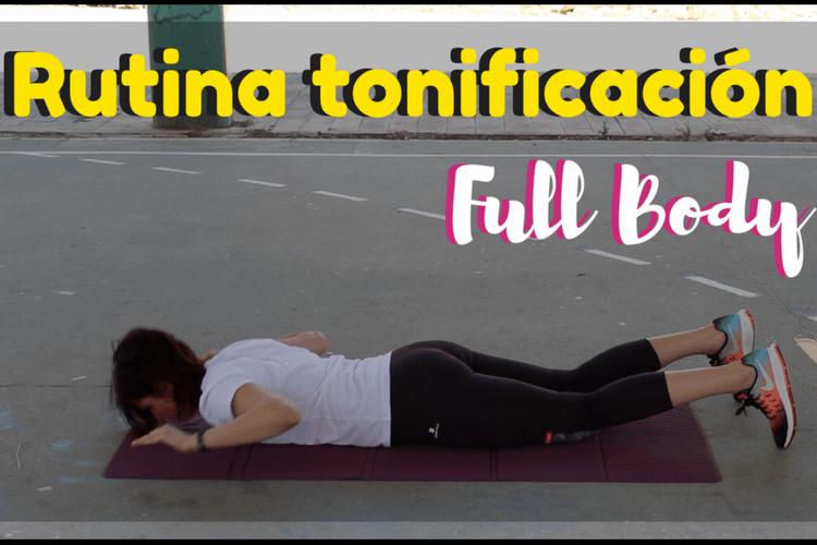 Rutina de entrenamiento Full Body